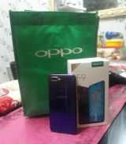 Oppo F9 (purple)
