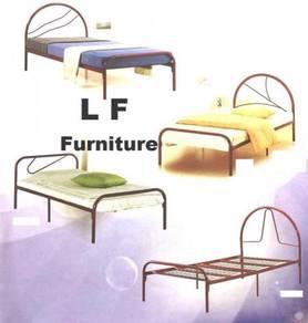 Katil Bujang besi, Single Bed (Steel/Metal) frame