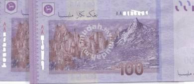 Malaysia new RM100 AA