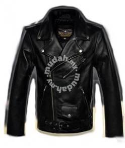 PU Leather Biker Jacket