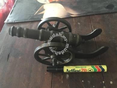 Meriam Tembaga Antik / Vintage Copper Cannon