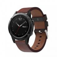 PU Leather Band (Quick Fit) for Garmin Fenix 5