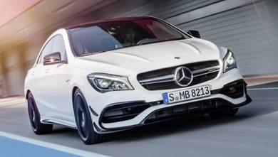 Mercedes W117 CLA45 facelift Canard