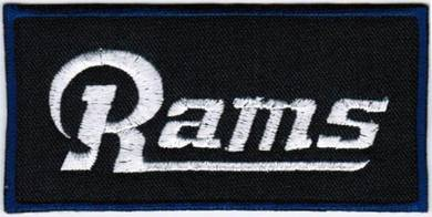 NFL St. Louis Rams TL National Football Patch