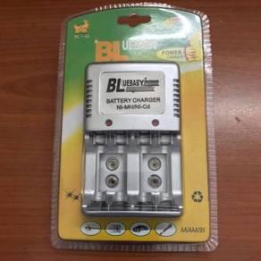 Plug Charger For AA/AAA/9V/Ni-MH/Ni-Cd Battery I