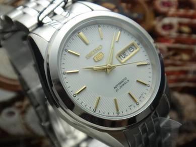S159) seiko 5 automatic men watch - new