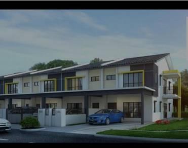 New 2 storey terraced house , rawang ,selangor