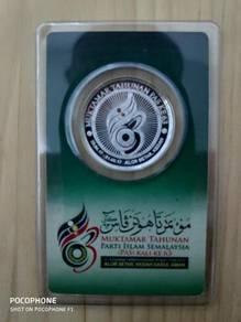1 Dirham Silver 999.0 - Muktamar PAS