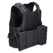 Amphibious tactical military molle waistcoat