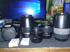 Canon 550d and other lens