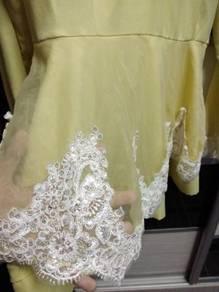 Dress dayang2 pengantin