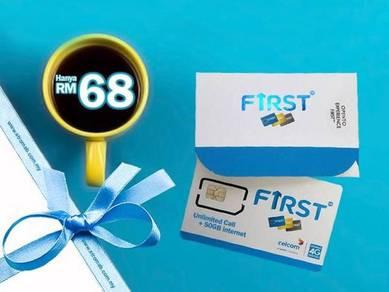 Promosi Masa Terhad First Gold RM68 sebulan