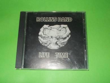 CD ROLLINS BAND: Life Time Album (1993) BLACK FLAG