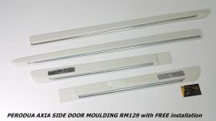 Perodua Axia OEM Door Protector With Paint LELONG