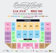 GEM Penang World Tour x 2 CAT1