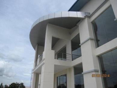 Brand new warehouse, showroom and corporate office, bintulu
