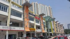 The zest point, bandar kinrara