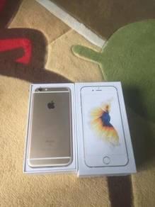 Original iphone apple 6s (128gb) fullset like new