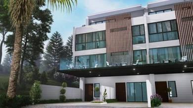 Below Market 4sty Villa Domus Taman Sri Gombak, KL [ 24x65 5R3B ]