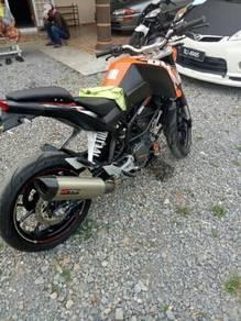 2013 KTM duke 200cc