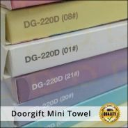 Mini towel with box colour door gift harga borong