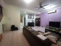 Sri Pulai 3 24x75 Superlink House Freehold Non-bumi Good Condition