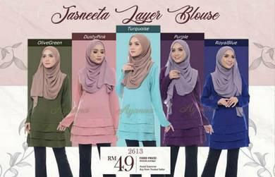 Jasneeta layer blouse