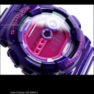 [Gunuine]Exclusive GShock GD-100SC-6 Purple Rare