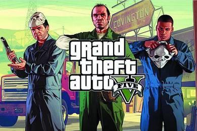 Poster GRAND ThEFT AUTO GTA5