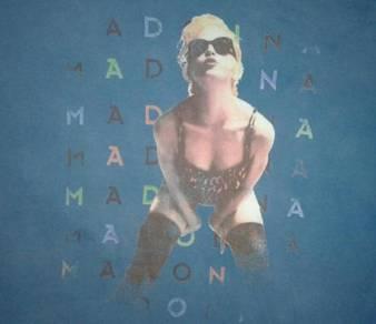 Madonna shirt pop singer music icon