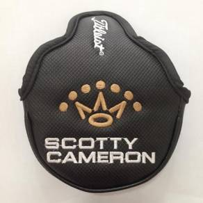 Golf Semi Half Moon Putter Cover Scotty Cameron