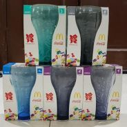 Coca Cola Mc Donalds Glass