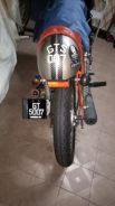 Cafe racer GTS 007 125cc