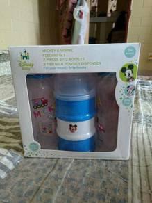Disney Mickey Minnie mouse bottles set