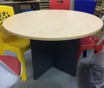 Meja bulat 4 kaki/ round table Dia1200mm