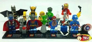 Avengers Superhero 8 in 1