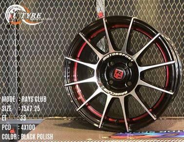 New 15 inch ori rays club sport rim