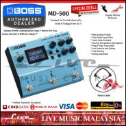 Boss MD-500 Modulation Effect Pedal (MD500)