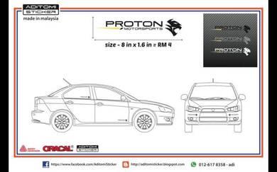 Proton Motorsports sticker