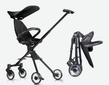 Portable baby trolley stroller