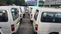 (Reliable Van ) LOCAL HIACE TOYOTA SPECIALIST 2.5D