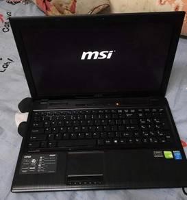 Msi gp60 core i7-4700mq