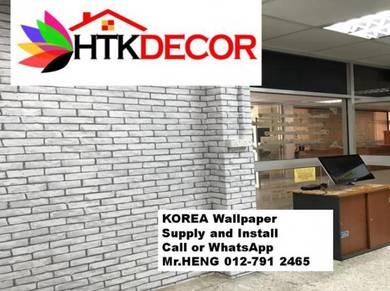 PVC Vinyl Wall Paper for various environments 54QM