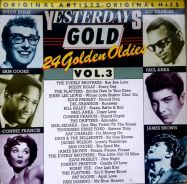 Yesterdays gold - 24 golden oldies vol. 3