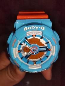 Original Casio Baby-G dalam keadaan baik.