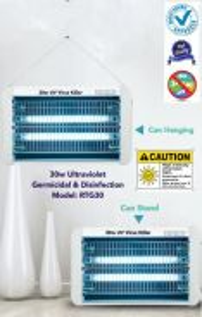 30W UV Household Germicidal Lamp UV Hanging