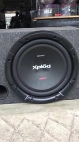 Power M sony + speaker box sony XPLOD