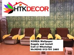 Sale and installation of Wall paper 42ON