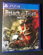 NEW PS4 Game Attack On Titan 1 Wings Of Freedom R1