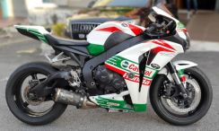 Honda CBR 1000RR CASTROL Fully Loaded 1000 rabbit